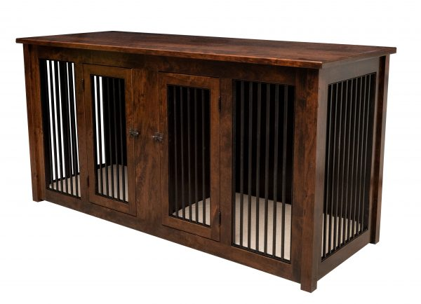 double pet cabinet with pad