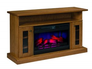 501 mission style fireplace